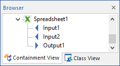 Using an External Element to Define Lookup Tables